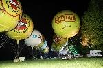 NRW - Meisterschaft der Gasballon. Alle in Reihe und Glied... Bereit zum FOTO!!!