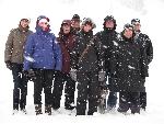 Kalt, Weiß ... Schnee... Gruppenfoto